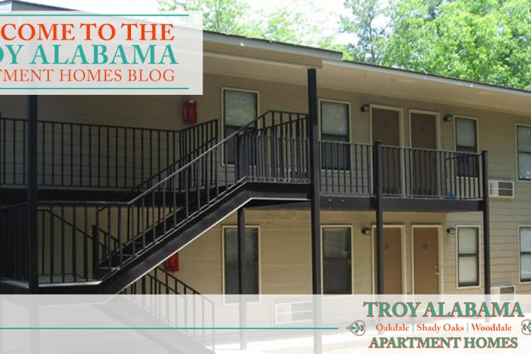 Welcome to the Troy Alabama Apartment Homes Blog