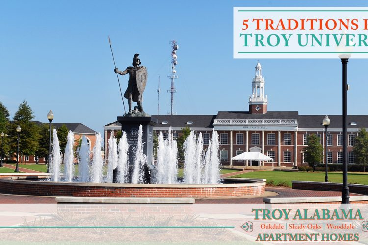 5 Traditions from Troy University