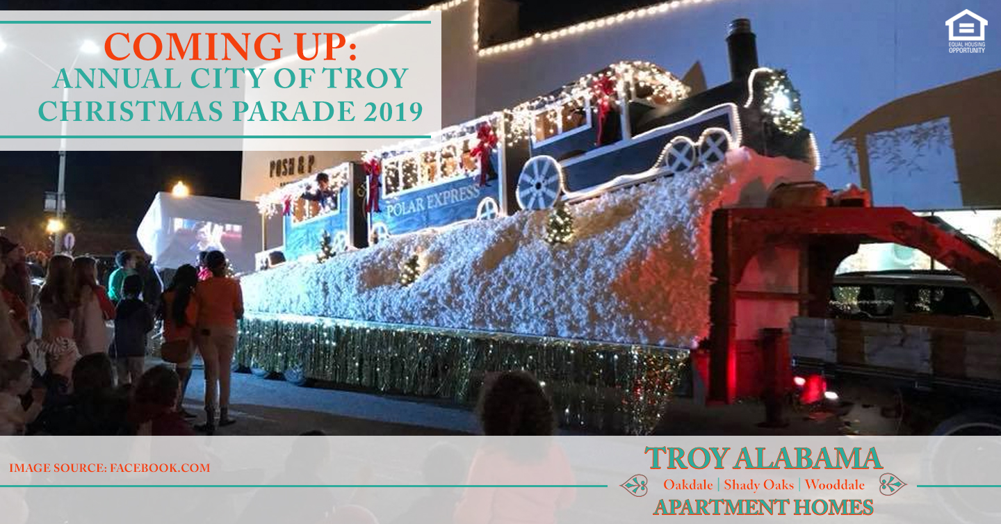 annual city of Troy Christmas parade 2019
