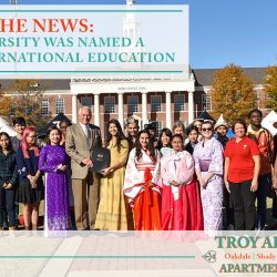 Troy University was named a leader in international education