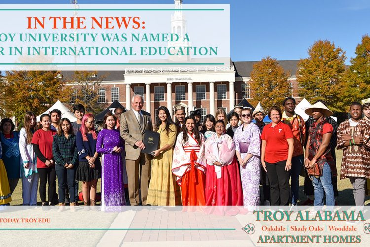 In the News: Troy University Was Named a Leader in International Education