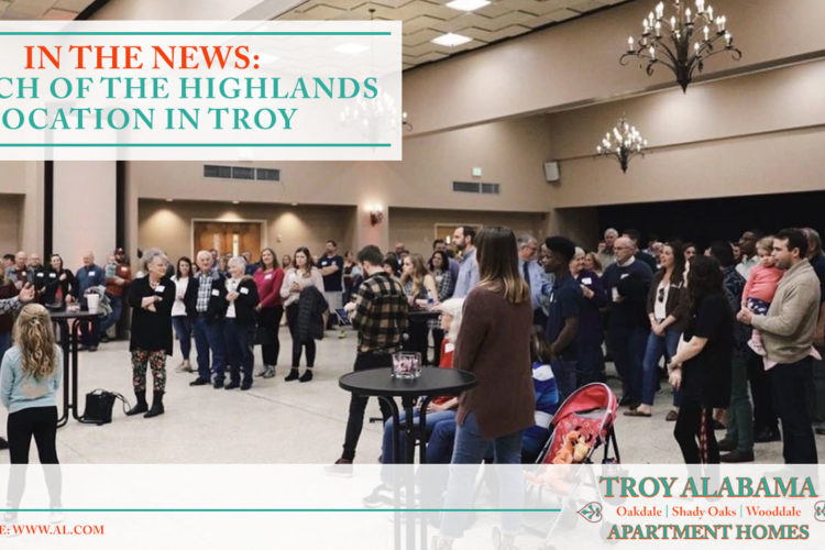 In the News: Church of the Highlands Location in Troy