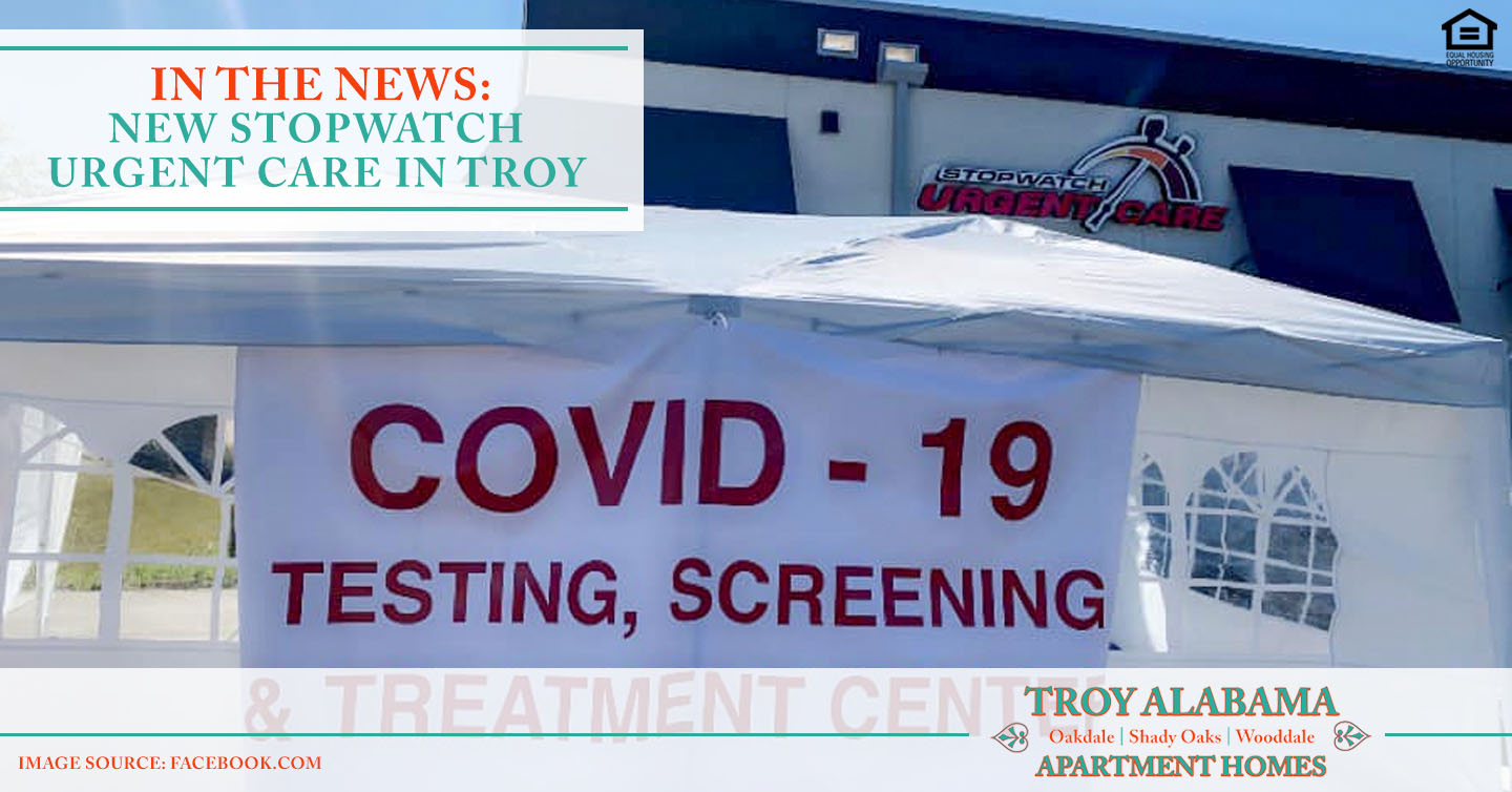 new Stopwatch Urgent Care in Troy