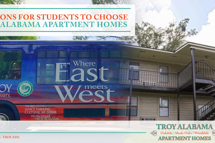 7 Reasons for Students to Choose Troy Alabama Apartment Homes
