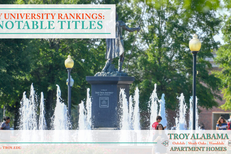 Troy University Rankings: 10 Notable Titles