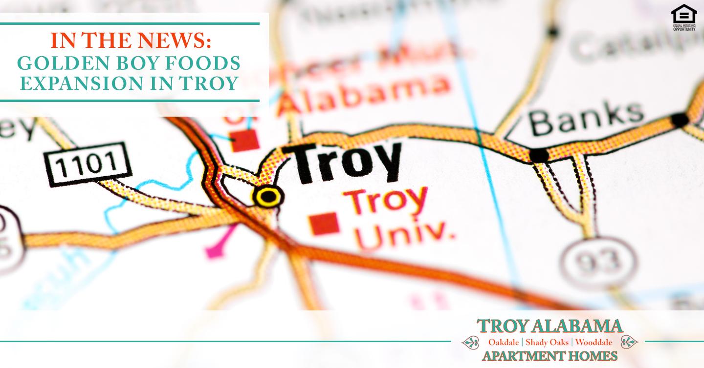 Golden Boy Foods Expansion in Troy