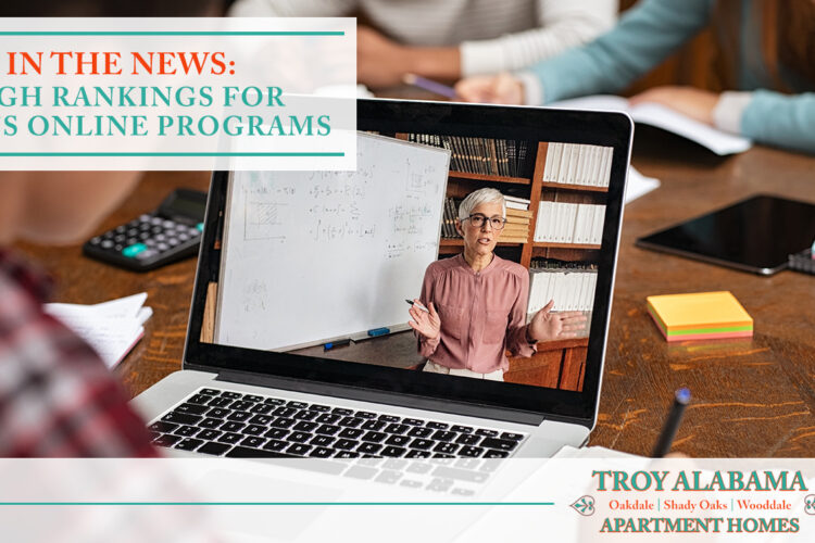 In the News: High Rankings for Troy's Online Programs