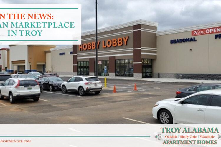 In the News: Trojan Marketplace in Troy